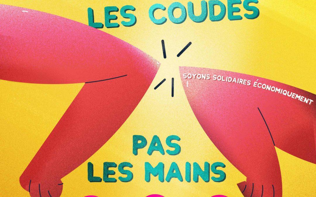 """Nudge-Design prend part à la campagne de solidarité économique """"Serrons-nous les coudes pas les mains"""" pour surmonter la crise du COVID-19 !"""